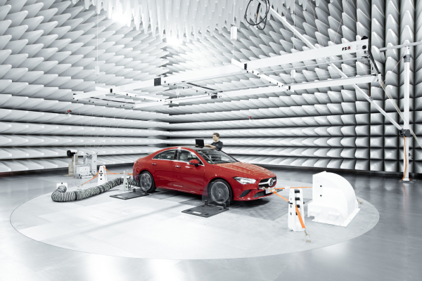 Mercedes-Benz opens new testing facility for electromagnetic