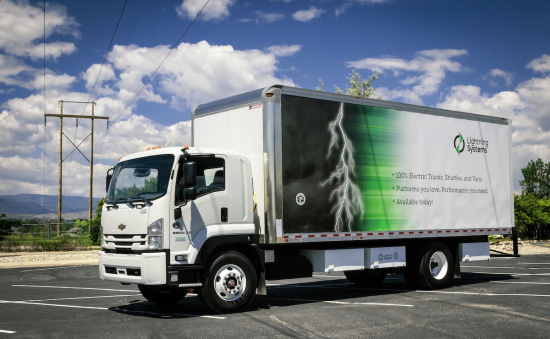 Lightning Electric Chevrolet 6500XD Low Cab Forward Truck