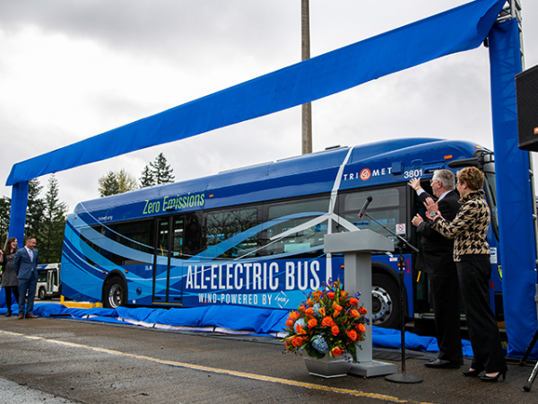 photo of New Flyer selected for the State of Oregon Transit Bus Cooperative Agreement image