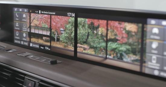 Honda e EV features five-screen, full-width digital dashboard