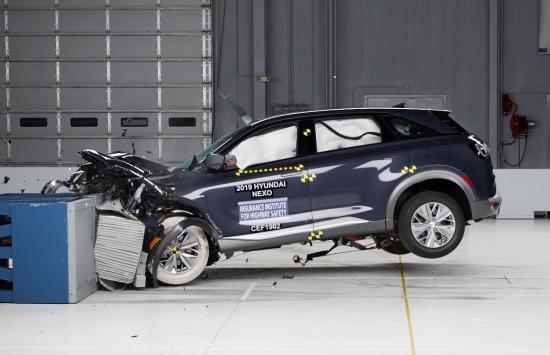 Hyundai NEXO fuel cell SUV earns IIHS Top Safety Pick+ award