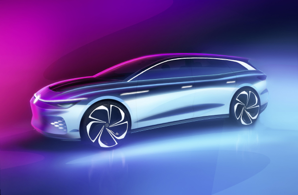 photo of VW to unveil ID. SPACE VIZZION EV wagon at LA show; production version in 2021 image
