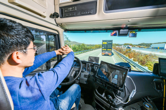 Hyundai Motor demonstrates autonomous driving tech capabilities with its first successful truck platooning trial