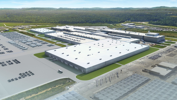 Volkswagen breaks ground on $800M expansion for MEB-based EV production in US; battery assembly plant also