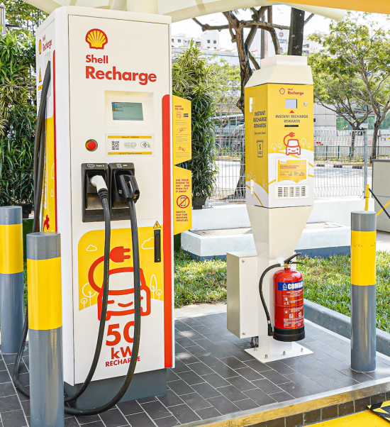 Abb To Install Ev Charger Network In 10 Shell Stations In Singapore Green Car Congress,Coworking Space Office Interior Design