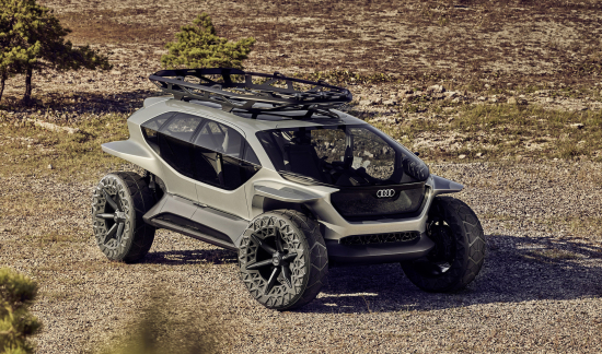 photo of Audi unveils AI:TRAIL quattro electric off-roader concept image
