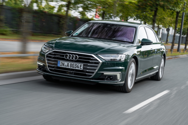 2020 Audi A8 TFSI e plug-in hybrid carries starting price of $94,000