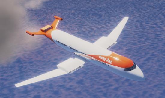 Wright-easyJet-Flyover