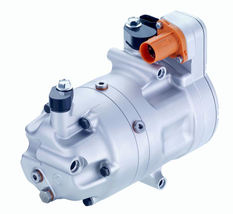 Electric ac compressor eCC_elektrischer Klimakompressor