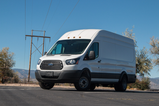 All-electric Ford Transit 350HD by Lightning Systems
