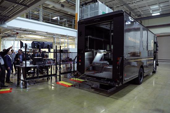 UPS Demo rear view
