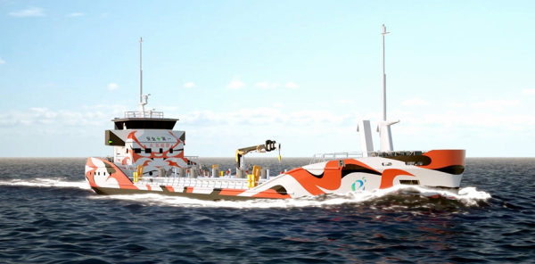 photo of 7 Japanese companies form e5 Consortium to promote electric vessels; launching electric tanker in 2022 image