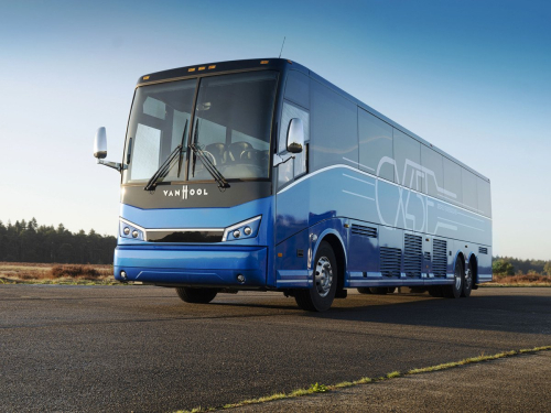 Van-hool-ships-the-first-cx45e-electric-coach-to-the-us