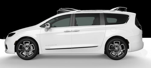 Chrysler Pacifica Side White