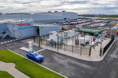 20210329 Toyota Hydrogen Centre