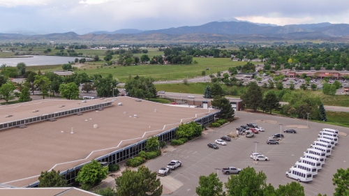 Lightning Systems facility in Loveland - overhead view