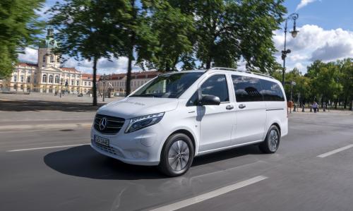 Start Of Sales For New Mercedes Benz Evito Tourer Green Car Congress