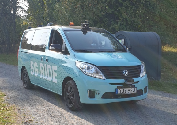 Keolis launches a new 5G autonomous electric vehicle trial in Stockholm