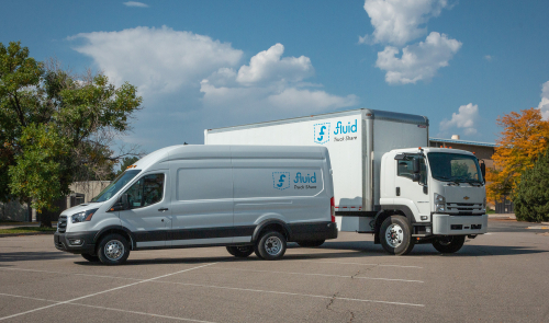 Fluid Truck Share all-electric models