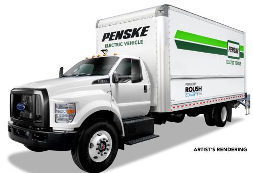 ROUSH CleanTech-Penske electric