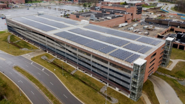 DTE Energy partners with Ford on new rooftop solar installation and battery storage