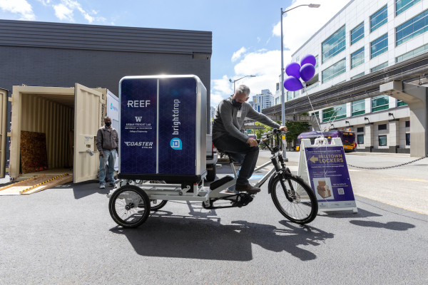 BrightDrop joins University of Washington's Urban Freight Lab, startups to launch sustainable last-mile delivery hub…