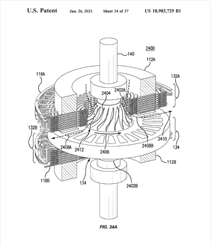 Maxxwell_Patent_Image_of_Electric_Motor