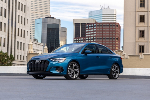 2022 Audi A3 now on sale in US with standard 48V MHEV; 24% better combined fuel economy in A3 40 TFSI quattro