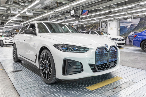BMW Group Plant Munich begins series production of electric i4