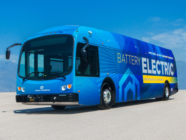 photo of Proterra unveils ZX5 next-generation battery-electric transit bus image