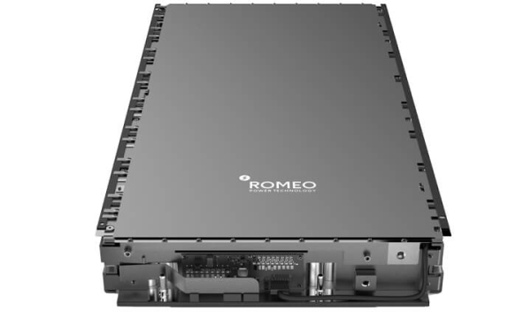photo of Romeo Power to supply battery packs, modules and BMS to PACCAR for Peterbilt 579 and 520 electric trucks image