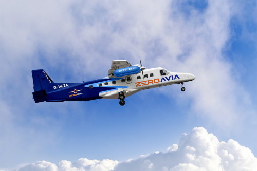 ZeroAvia 19 seat prototype