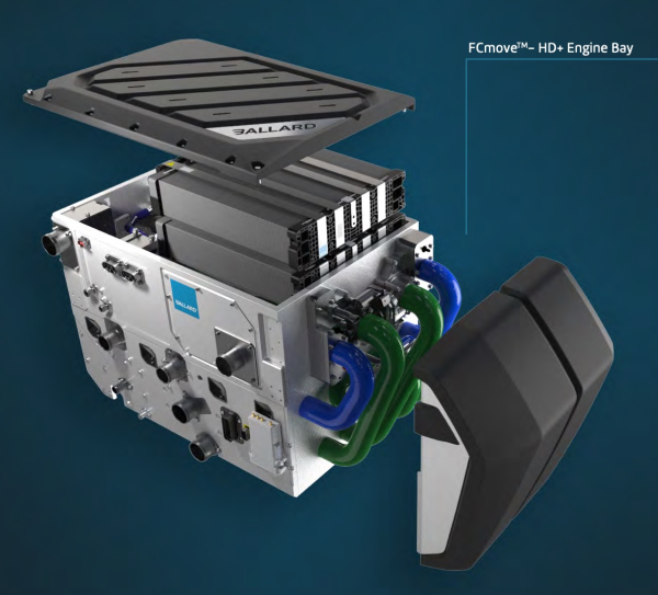 Ballard launches FCmove-HD+ fuel cell power module for trucks and buses