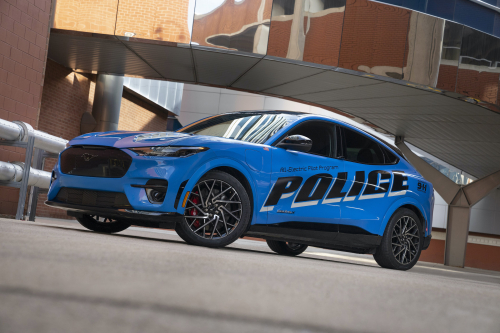 Ford submits all-electric police pilot vehicle for Michigan State Police testing