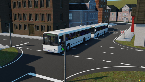 KIT Researchers developing autonomous platooning electric bus system for public transport in Munich