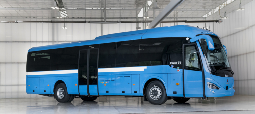 Irizar manufactures LNG long-distance coach with range of more than 1000km