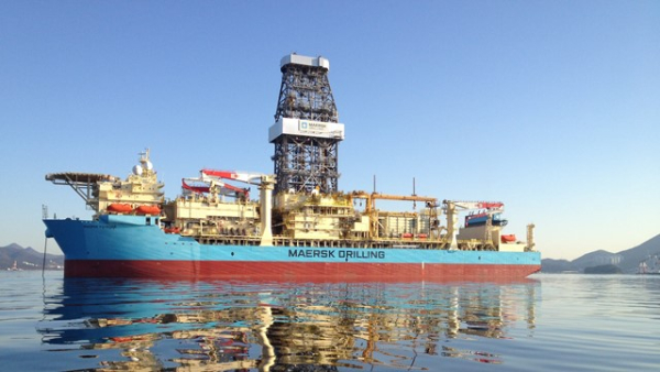 Maersk Drilling awarded contract extension to drill world record well in Angola; 2.25-mile water depth