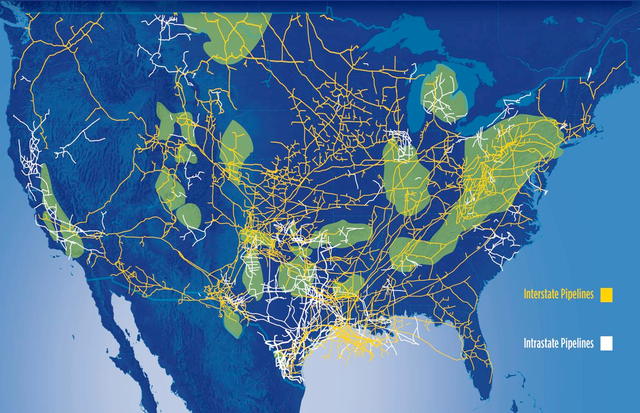 Unconventional Natural Gas Resources Boost US Reserves To - Us natural gas reserves map