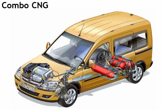Opels New Cng Vanand Beyond Green Car Congress