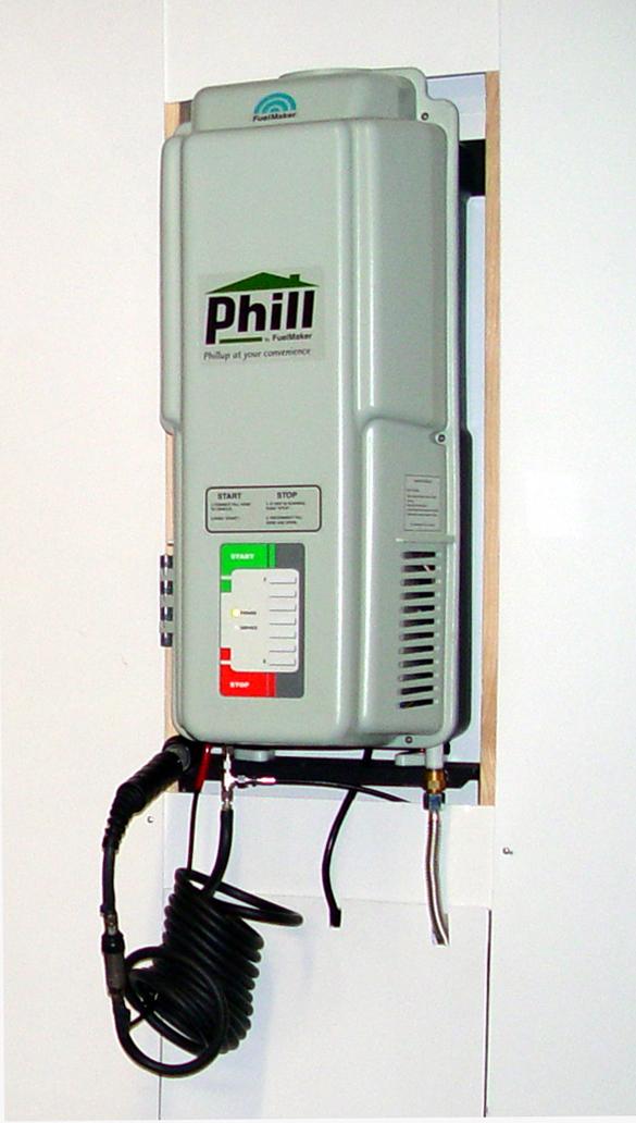 Natural Gas Vehicle FuelingAt Home