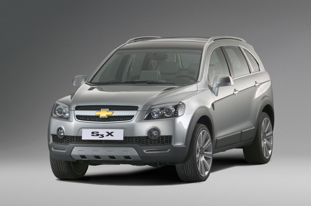 Gm Is Premiering A Concept Version Of Its New 7 Seat S3x Suv With Hybrid Train At The Paris Motor Show When Launched In Market 2006